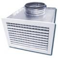 Решетка вентиляционная АЛР с КСД 400х200