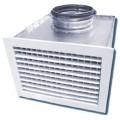 Решетка вентиляционная АЛР с КСД 300х300